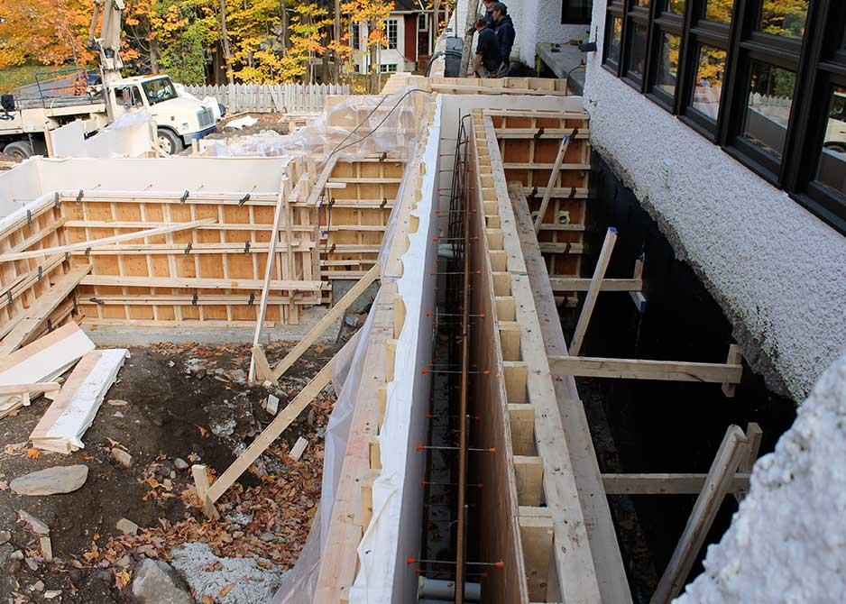 Maison d 39 architecte montr al cr actif construction qu bec for Maison 1970 renovation