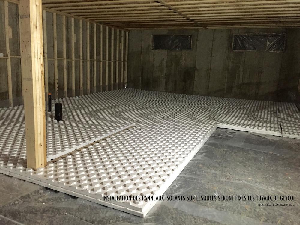 installation d 39 un plancher chauffant au glycol entrepreneur g n ral. Black Bedroom Furniture Sets. Home Design Ideas